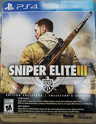 Sniper Elite III 3 Collector's Edition ( Playstation 4 / PS4 )  segunda mano  Embacar hacia Mexico
