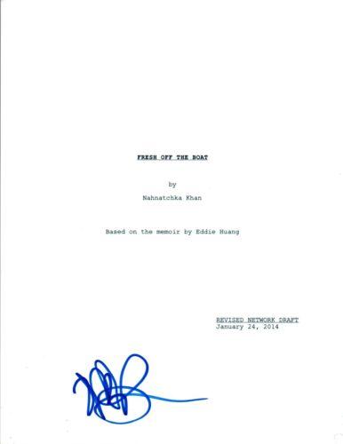 Randall Park Signed Autographed FRESH OFF THE BOAT Pilot Episode Script COA AB