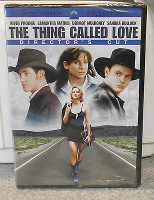 The Thing Called Love (DVD 2006 Director's Cut) RARE MUSIC ROMANCE  BRAND NEW - Love Music Directors