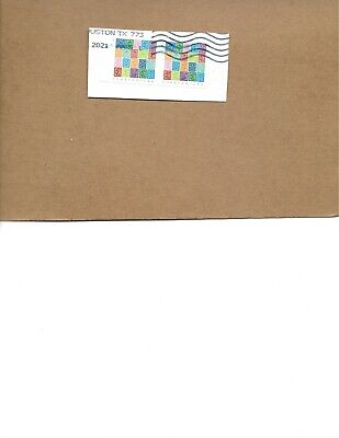 SCOTT 5614 MYSTERY MESSAGE IMPERF USED PAIR NO DIE CUTS