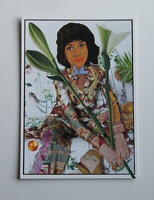 Original Handcut Paper Collage 'Floral' by Joyce & Vicky