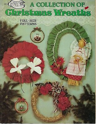 Collection of Christmas Wreaths, Creative Pattern Collection Craft Book Leaflet ()
