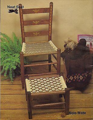 Möbel Fan (Buch Only #7629 Möbel Fan-Fare II - Selten Macrame Stuhl & Fußstütze Muster)