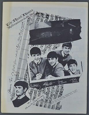 June 1965 Record Hunter's Catalog The Beatles Cover Vinyl Mail Order