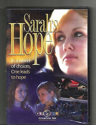 SARAH'S HOPE (2005, DVD) Choices, One Leads To Hope: Christianity: Creation Six