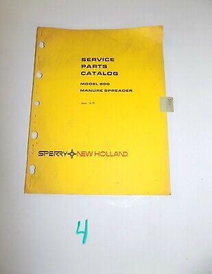 New Holland 800 Manure Spreader Service Parts Catalog Manual 3-79 5080010