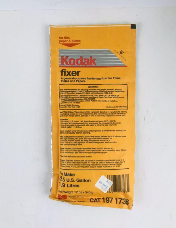 Kodak Hardening Fixer - 1/2 Gallon Package CAT 197 1738 Films Plates Papers Exp