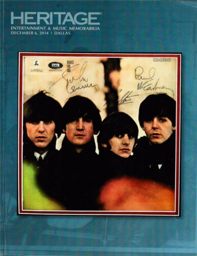 HERITAGE MUSIC & ENTERTAINMENT AUCTION -BEATLE,SINATRA,GONE WITH THE WIND 248pgs
