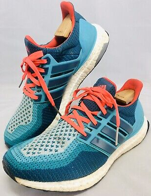 ADIDAS ULTRA BOOST 2.0 MINERAL GREEN BLUE TRAINER SNEAKERS SHOE 8.5Uk 42.5EU 9US