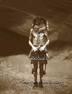 """Native American Navajo Holy Man """"Tobadzischini""""  - 8.5"""" x 11"""" Photo Print"""