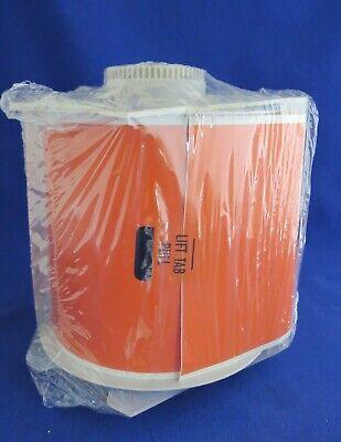 Orange Globalmark Vinyl Label Tape Brady B-588 4 Inch 100 Feet 76594
