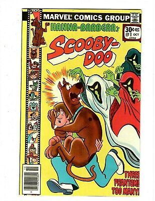 🤣 Scoody-Doo No.1 Key 1st Dynomutt Marvel 1977 Edition in High Grade 9.0