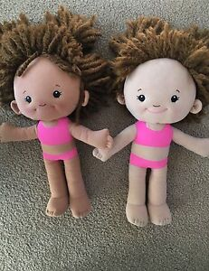 2 X Fabric Dolls Belrose Warringah Area Preview