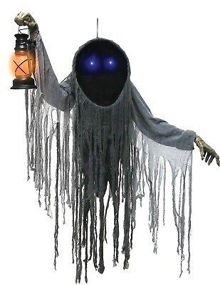 Halloween HANGING LOOMING PHANTOM GHOST Prop Haunted House NEW  - Ghost Prop