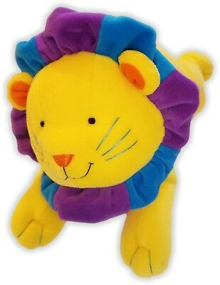 "11"" DAKIN APPLAUSE YELLOW LION PLUSH 49-6 for sale  Shipping to India"