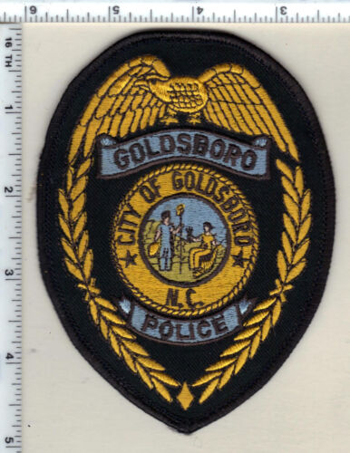 Goldsboro Police (North Carolina) Uniform Take-Off Shoulder Patch from 1980