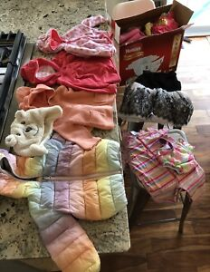Box of girl clothes 12-24 months