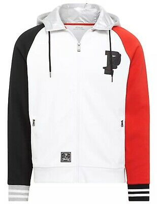 Polo Ralph Lauren P-Wing Double-Knit Hoodie Jacket Size XL / X-Large New $198