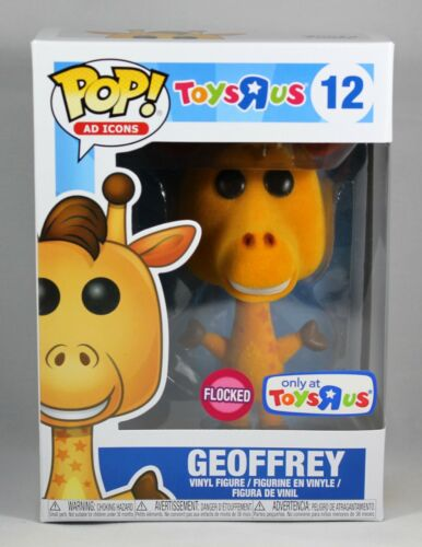 GEOFFREY TOYSRUS FUNKO POP VINYL FIGURE AD ICONS 12 EXCLUSIVE FLOCKED GIRAFFE