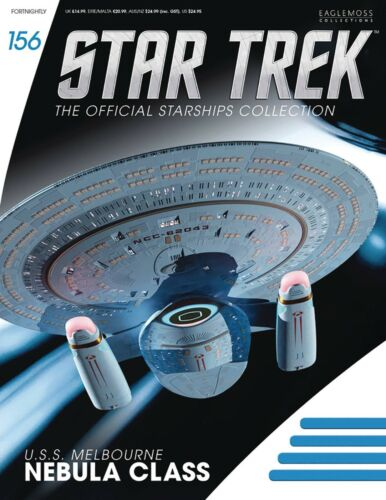 Star Trek Starship Collection #156 USS MELBOURNE NEBULA CLASS EAGLEMOSS - NEW