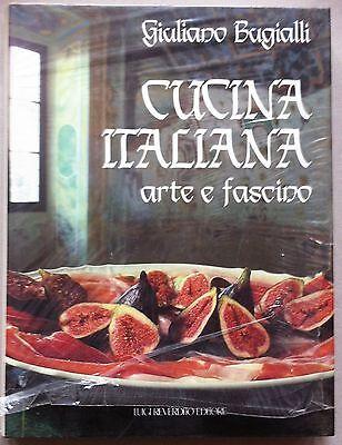 Giuliano Bugialli Cucina Italiana arte e fascino Reverdito ed. 1987-L4679