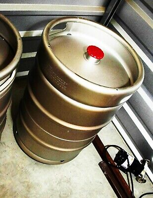 Kegco 15.5 Gallon 12 Barrel Commercial Beer Keg Drop-in D Stainless New