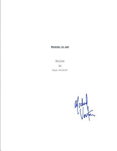 Michael Vartan Signed Autographed MONSTER IN LAW Movie Script COA VD