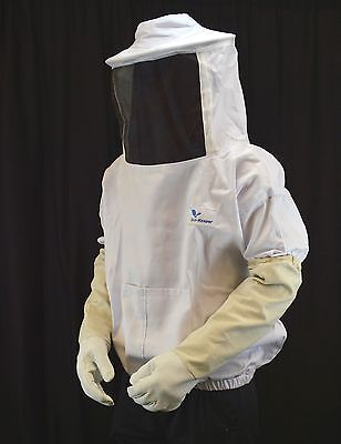 Sale Pro Beekeeping-jacket--hat Veil W Free Glove-xx Large Us Seller