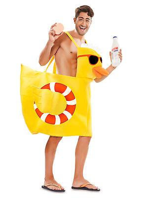 Poolparty-Badeenten-Kostüm für Erwachsene gelb - Party Kostüme Für Erwachsene