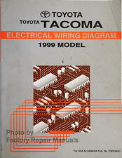 1999 Toyota Tacoma Electrical Wiring Diagrams Original ...