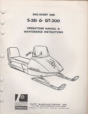 $_1 manuals rupp snowmobile trainers4me 1974 Rupp Snowmobile at bakdesigns.co