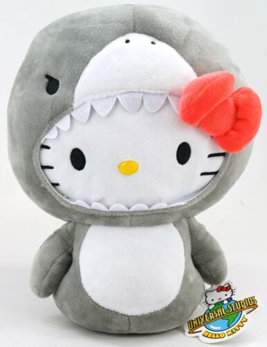 "NEW Universal Studios Sanrio Hello Kitty In Jaws Costume 9"" Plush Toy"