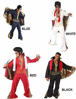 ROCK & ROLL KING ELVIS ROCK LEGEND THEATRE HALLOWEEN ADULT COSTUME](Musical Theater Halloween Costumes)