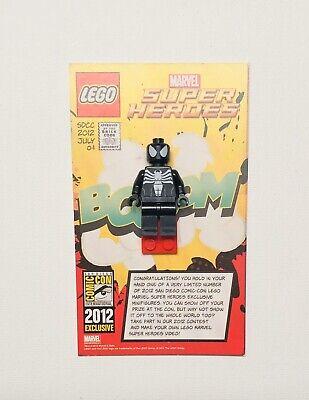 LEGO SDCC Black Spiderman Minifigure San Diego Comic Con Spider Man NEW RARE