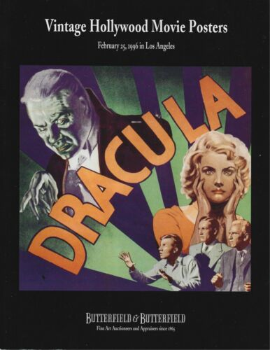 VINTAGE HOLLYWOOD POSTERS(DRACULA) & ANIMATION ART & POSTERS(DISNEY)BUTTERFIELD