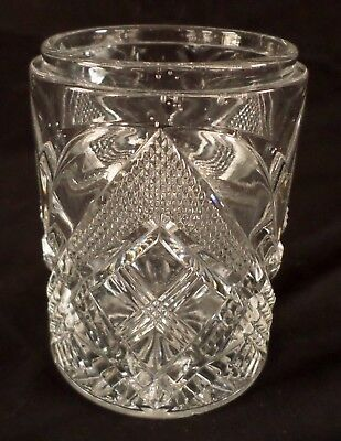 EAPG~CORNELL - Tarentum Glass - Flint Glass - Pickle~Marmalade~Jelly Jar - 1898 ()