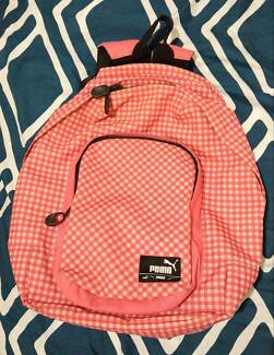 Puma Pink & White Backpack Kensington Eastern Suburbs Preview