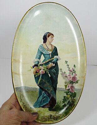 Boulenger et Cie CHOISY Le Roi Antique French Transfer Printed Plate 1800/'s Choisy Blue and White Aged Cream Terre de Fer Earthenware