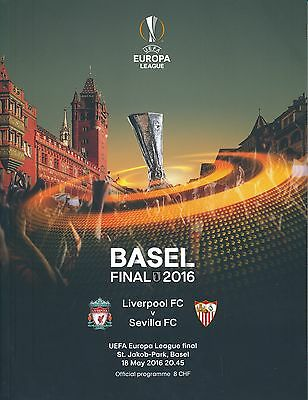 UEFA EUROPA LEAGUE FINAL 2016 Sevilla v Liverpool