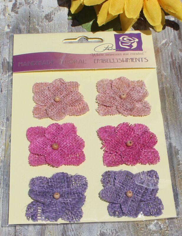 Prima Handmade Floral Embellishments