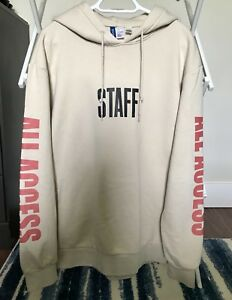 Justin Bieber Purpose Tour Hoodie (Official Merch - Size Large)