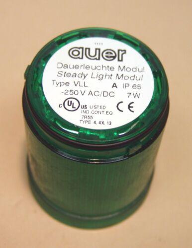 Auer Dauerlicht Type VLL Grün 250V AC/DC 7W