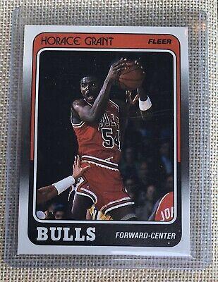 Horace Grant 1988 Fleer Rookie RC 16 Of 132 NearMt+/Mint? Jordan last dance