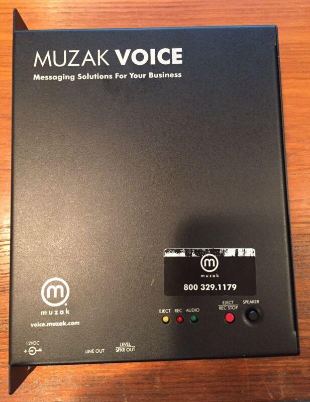 MUZAK VOICE PLAYER, Used