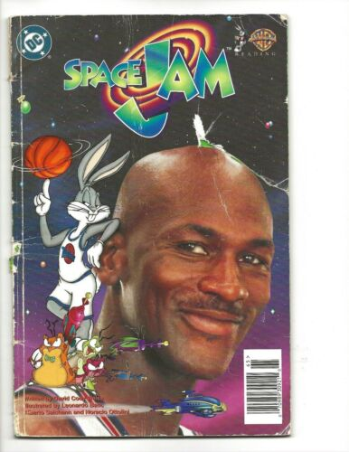 Space Jam (1996)  CLASSIC MICHAEL JORDAN!!!  COMPLETE READER COPY!