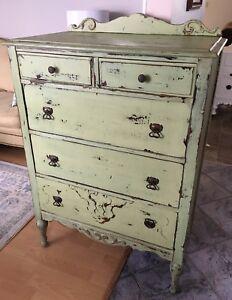 Shabby Chic Antique Dresser REDUCED