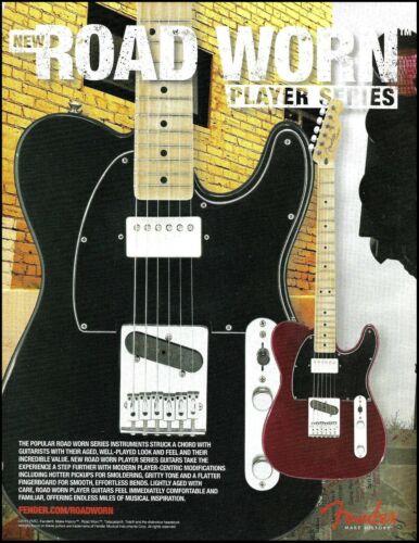 Fender Player Series Road Worn Telecaster guitar advertisement 2011 ad print