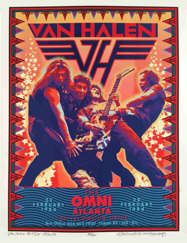 VAN HALEN Poster New Artist