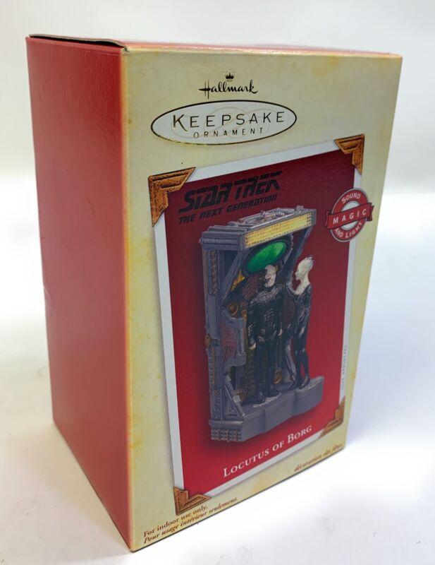 Star Trek The Next Generation Hallmark Ornament - Locutus Of Borg - 2005