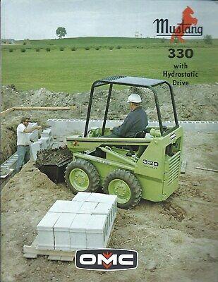Equipment Brochure - Owatonna Omc - Mustang - 330 - Skid Steer Loader E5186